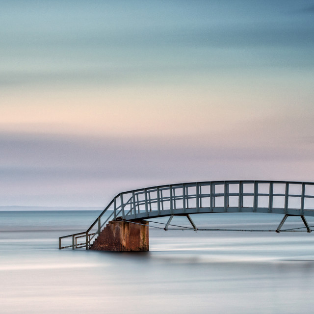 """The Bridge to No Where"" stock image"