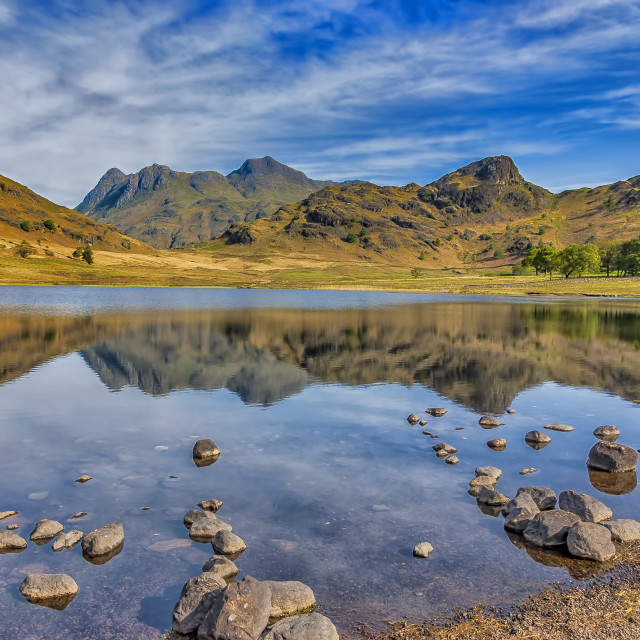 """Blea Tarn Lake District"" stock image"