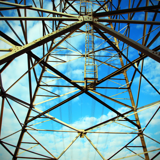 """Transmission Tower #2"" stock image"