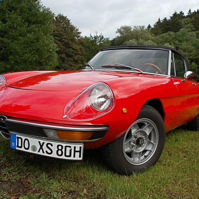 """Alfa Romeo"" stock image"