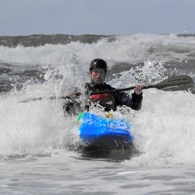 """Sea kayak"" stock image"