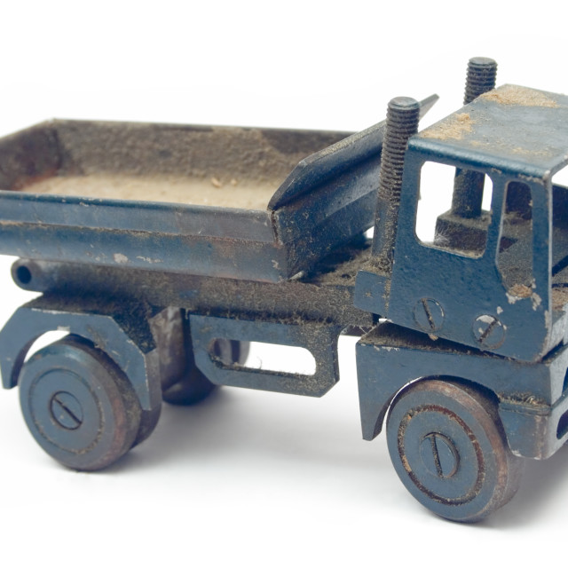 """""""Grungy Toy Truck"""" stock image"""