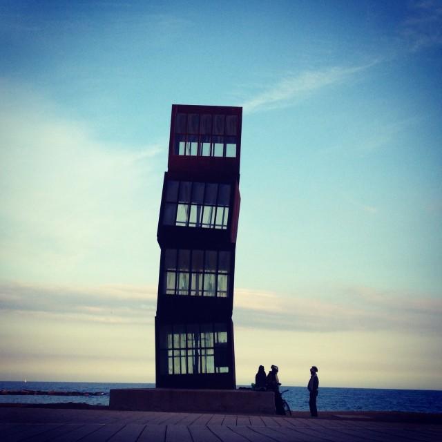 """Art in Barcelona"" stock image"