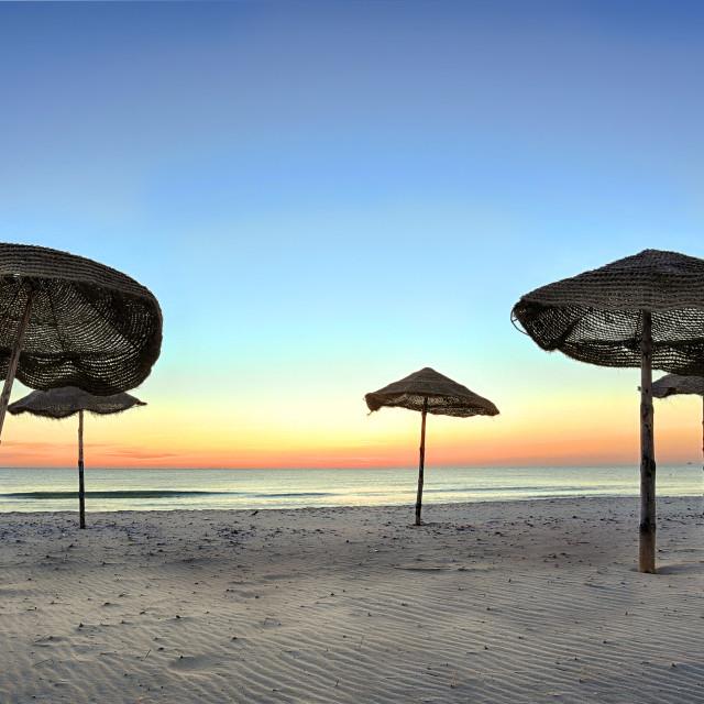 """Tunisia Beach"" stock image"