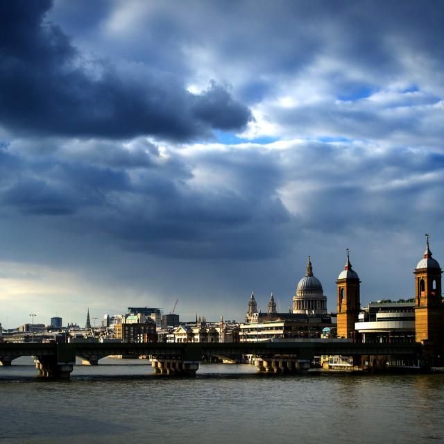 """The London Skyline"" stock image"