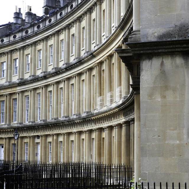 """Bath colonade"" stock image"