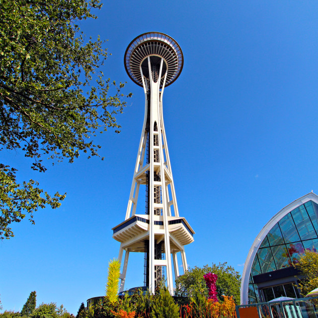 """Space Needle"" stock image"