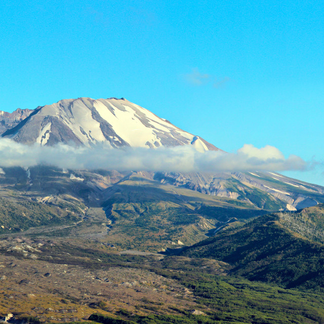 """Mount St Helens"" stock image"