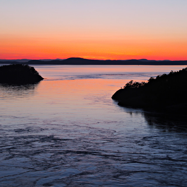 """San Juan Islands"" stock image"