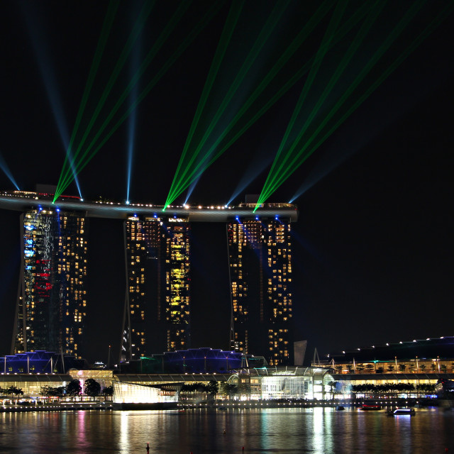 """Marina Bay Sands"" stock image"