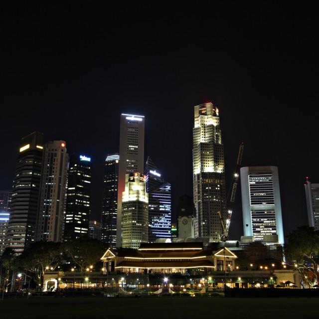 """Singapore"" stock image"