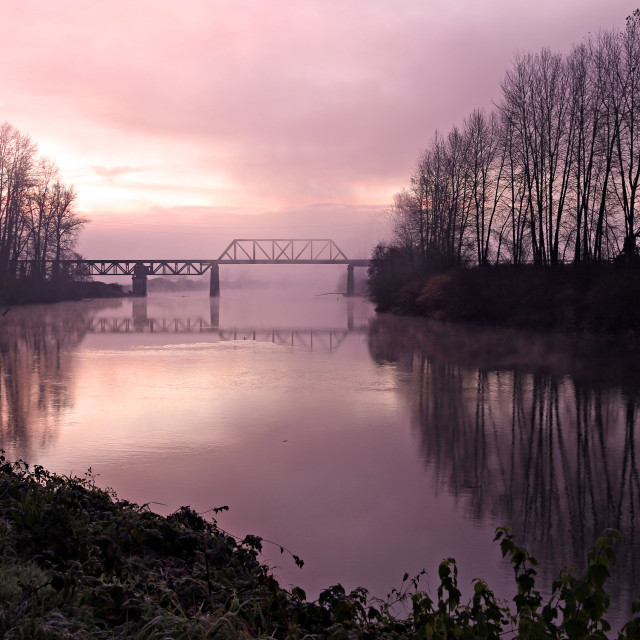 """Snohomish River"" stock image"