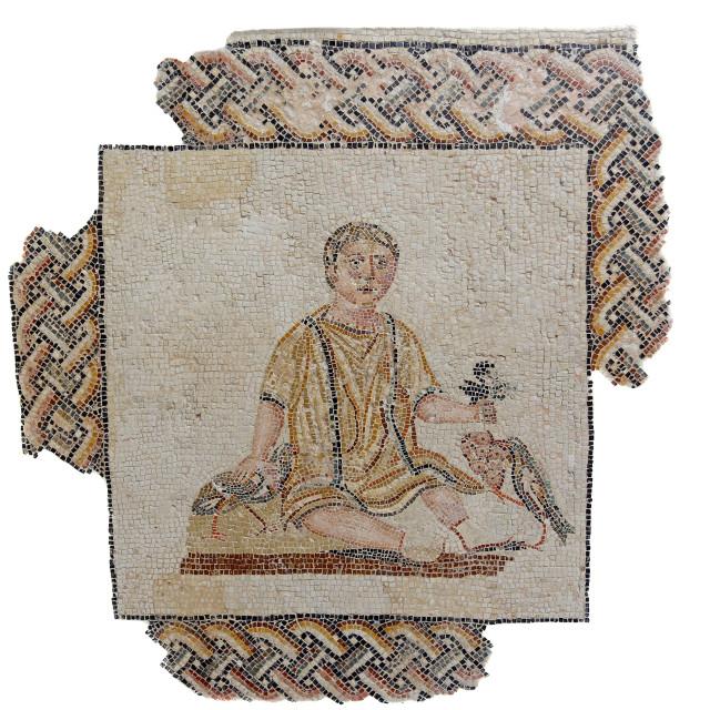 """Roman Mosaic"" stock image"
