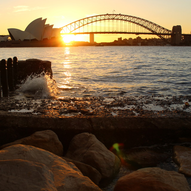 """Sydney Harbour"" stock image"