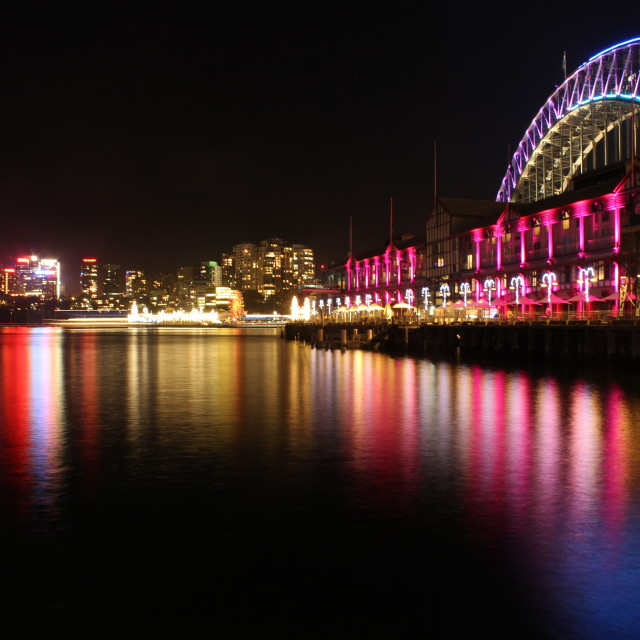 """Sydney Harbour Bridge (The other side)"" stock image"