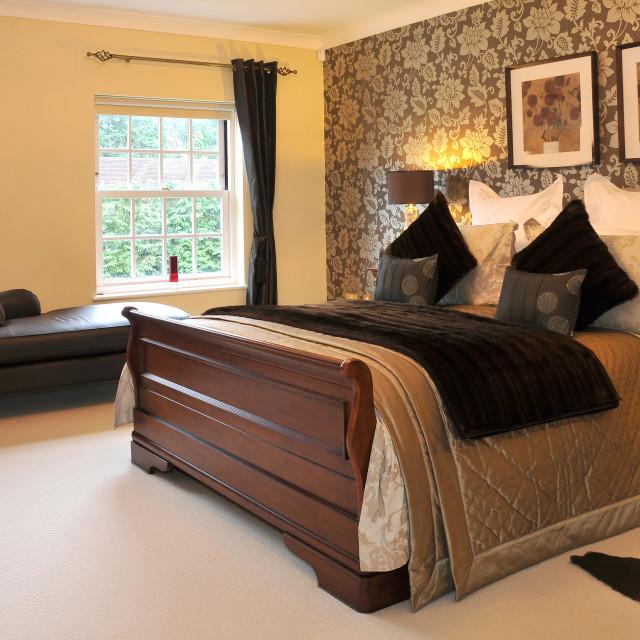 """Bedroom"" stock image"