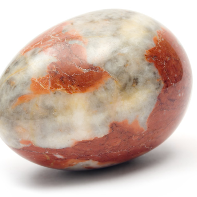 """Marble Easter Egg"" stock image"