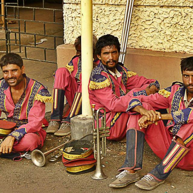 """""""Kolkata Marching Band"""" stock image"""