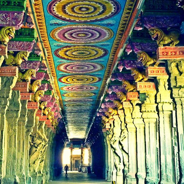 """Meenakshi Amman Temple"" stock image"