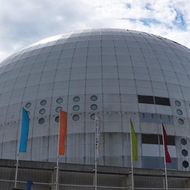 """Ericsson Globe Arena"" stock image"
