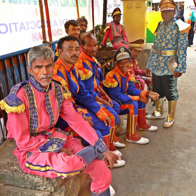 """""""Kolkata Marching Band 2"""" stock image"""