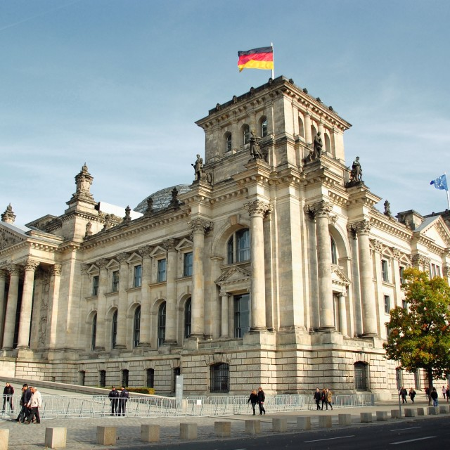 """Reichstag building"" stock image"
