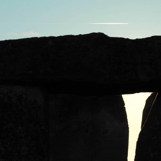 """""""Stonehenge up close"""" stock image"""
