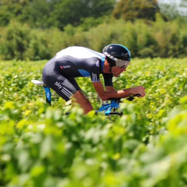 """""""Michael Barry, Tour de France 2010"""" stock image"""