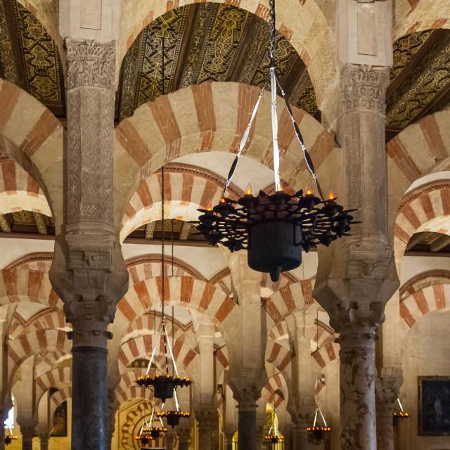 """Cordoba Mosque - 1"" stock image"