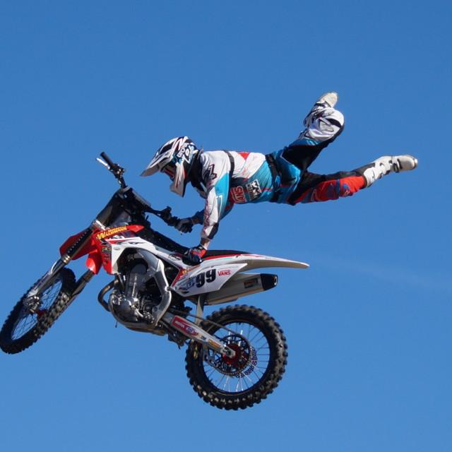 """""""I'm flying"""" stock image"""