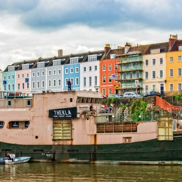 """The ""Thekla"""" stock image"
