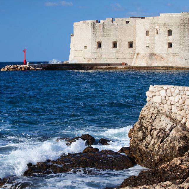 """Dubrovnik Old City"" stock image"