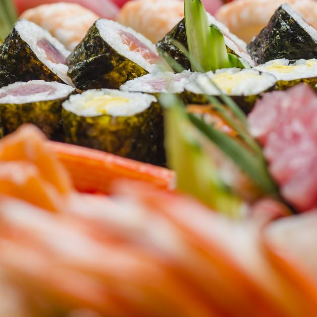 """""""Maki Sushi"""" stock image"""