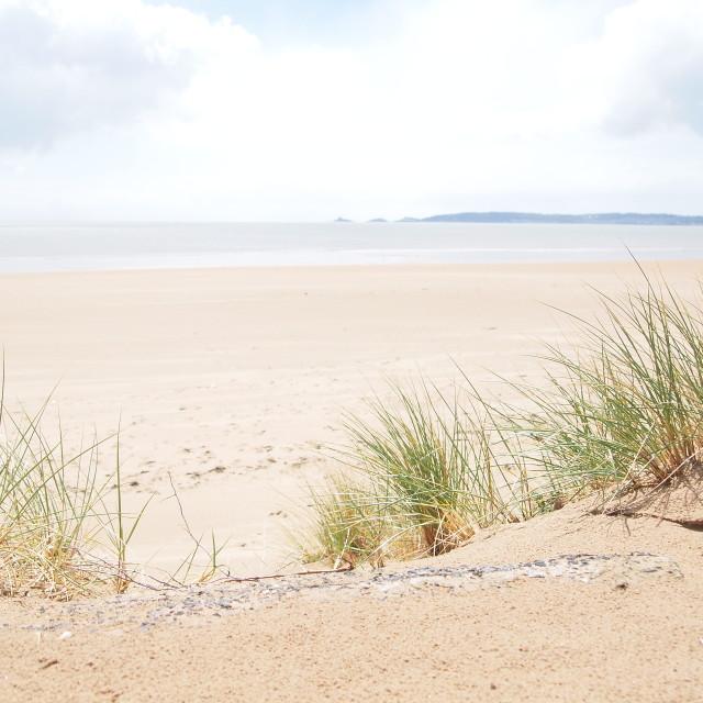 """Swansea Beach"" stock image"