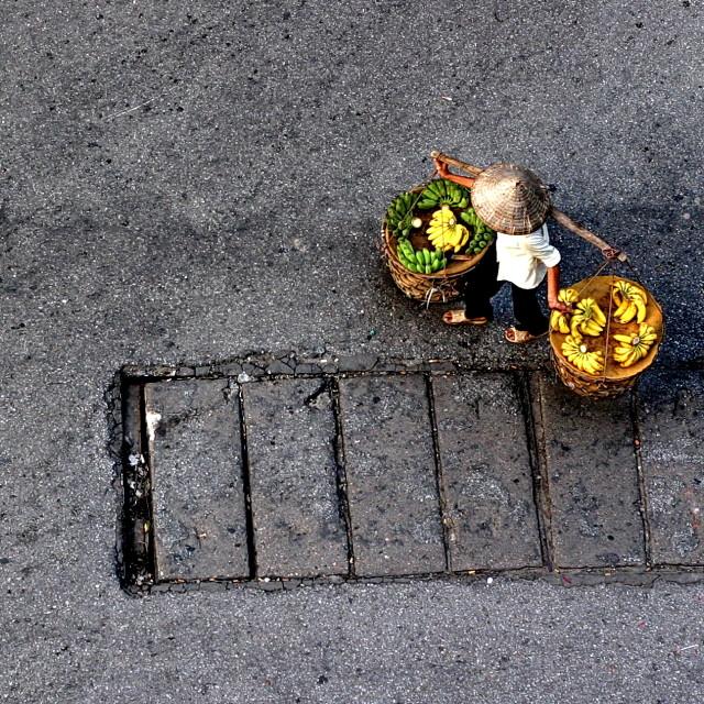 """""""A street vendor"""" stock image"""