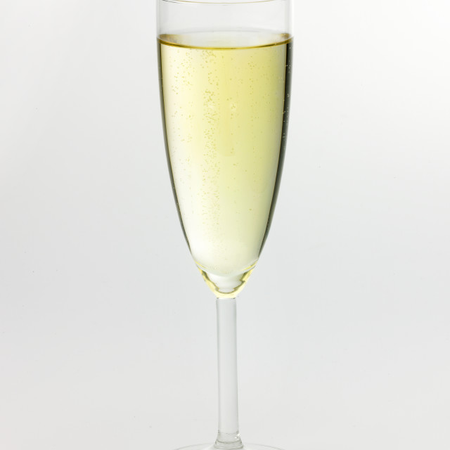 """""""Champagne glass"""" stock image"""