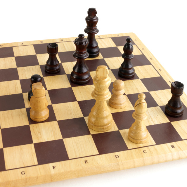 """check mate"" stock image"