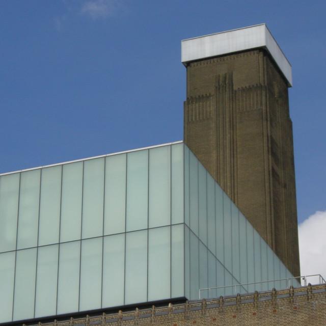"""Tate Modern Landscape"" stock image"