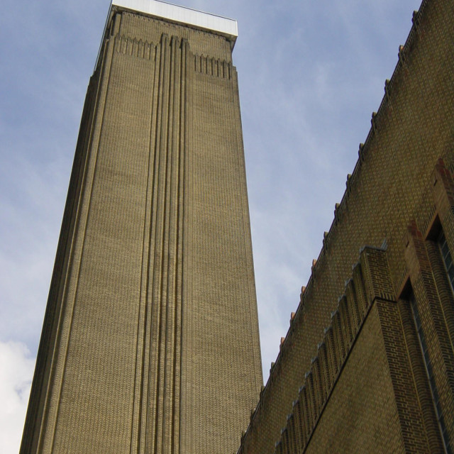 """Tate Modern Tower"" stock image"