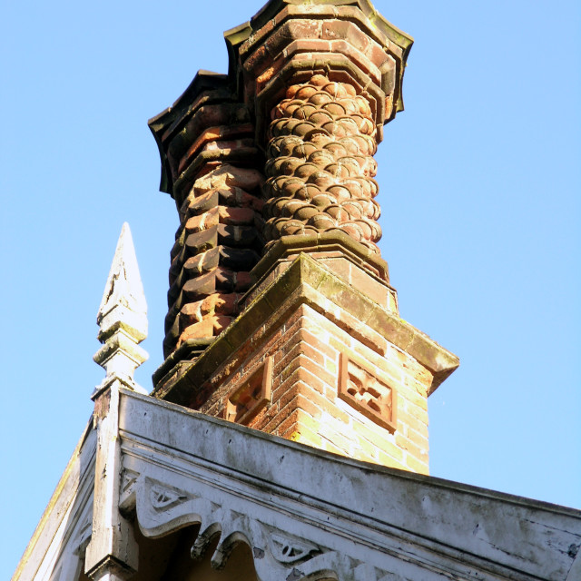 """Chim Chimney"" stock image"