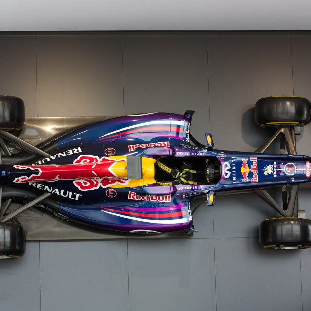 """Red Bull Car"" stock image"