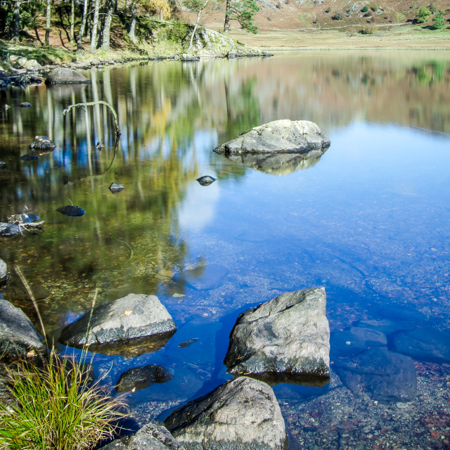 """Blea Tarn, Cumbria - 5"" stock image"
