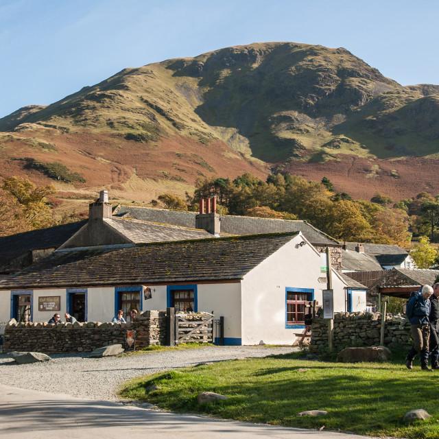 """Buttermere, Cumbria"" stock image"