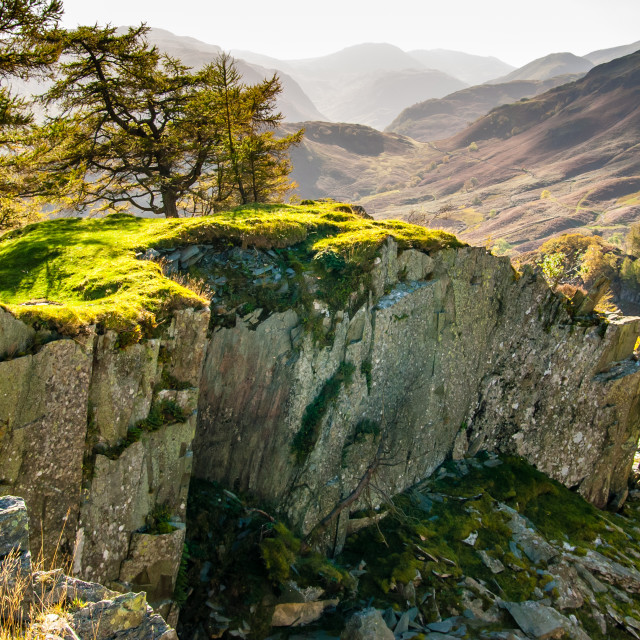 """Castle Crag, Cumbria - 1"" stock image"