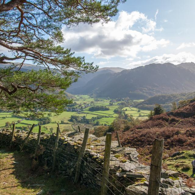 """""""Castle Crag, Cumbria - 3"""" stock image"""