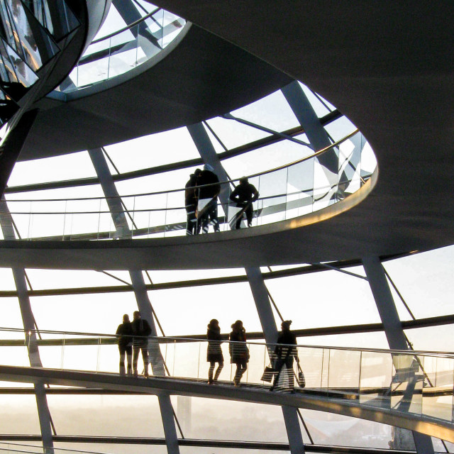 """""""Reichstag Dome - 1"""" stock image"""