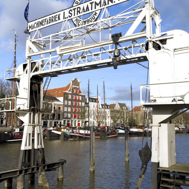 """Monument in Dordrecht"" stock image"