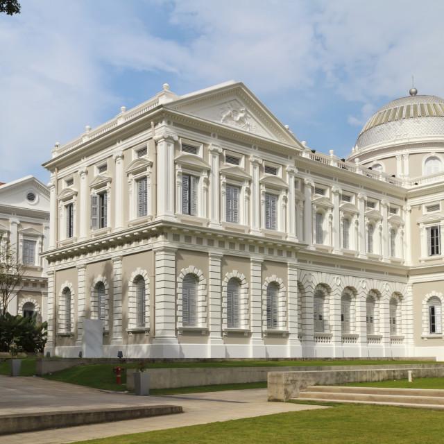"""National Museum of Singapore"" stock image"