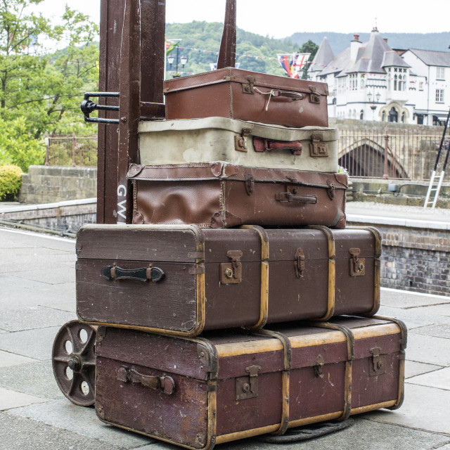 """Luggage"" stock image"