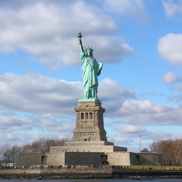 """Statue of Liberty, New York City, USA"" stock image"
